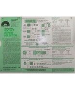 Holo-Krome 99013 Socket Screw Selector Card Chart Inches - $2.97