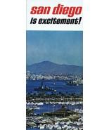 ORIGINAL Vintage 1960s San Diego California Tourism Brochure - $12.19