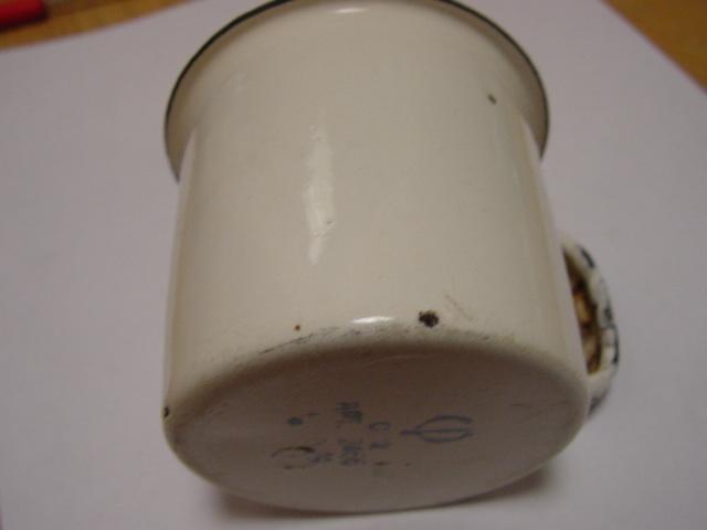 Vintage Soviet Russian USSR Classic Enamel Teapot 1960