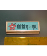 Rubber Stamps - thinking OF you (New) - $4.00
