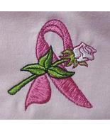 Ribbon Rose Sweatshirt 4XL Pink Crew Neck Breast Cancer Awareness Unisex... - $29.07