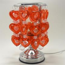 Hearts  Electric Glass Oil or Tart Warmer Red/White - $21.95