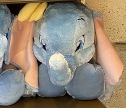 Disney Parks Dumbo Baby Elephant Big Feet Large 18 inch Plush Doll NEW - $59.90