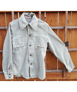 Vintage BIG YANK Mens Soft Denim Jacket Shirt-M-RN 43602-Light Blue-Snap... - $210.36