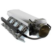 FABRICATED GM LS LS7 7.0L INTAKE MANIFOLD W/ FUEL RAILS & THROTTLE BODY