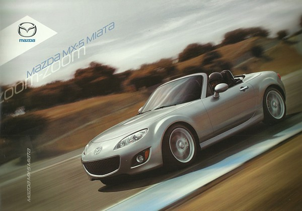 2009/2010 Mazda MX-5 MIATA sales brochure catalog 09 10 US PRHT