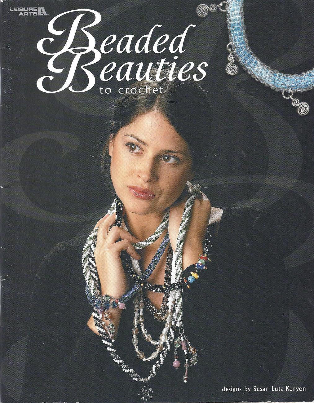 Beaded Beauties to Crochet~Jewelry Beading Craft Book