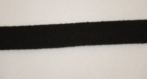 Simplicity 1861003031 Black Cotton Belting 1 Inch Wide 10 Yards Long