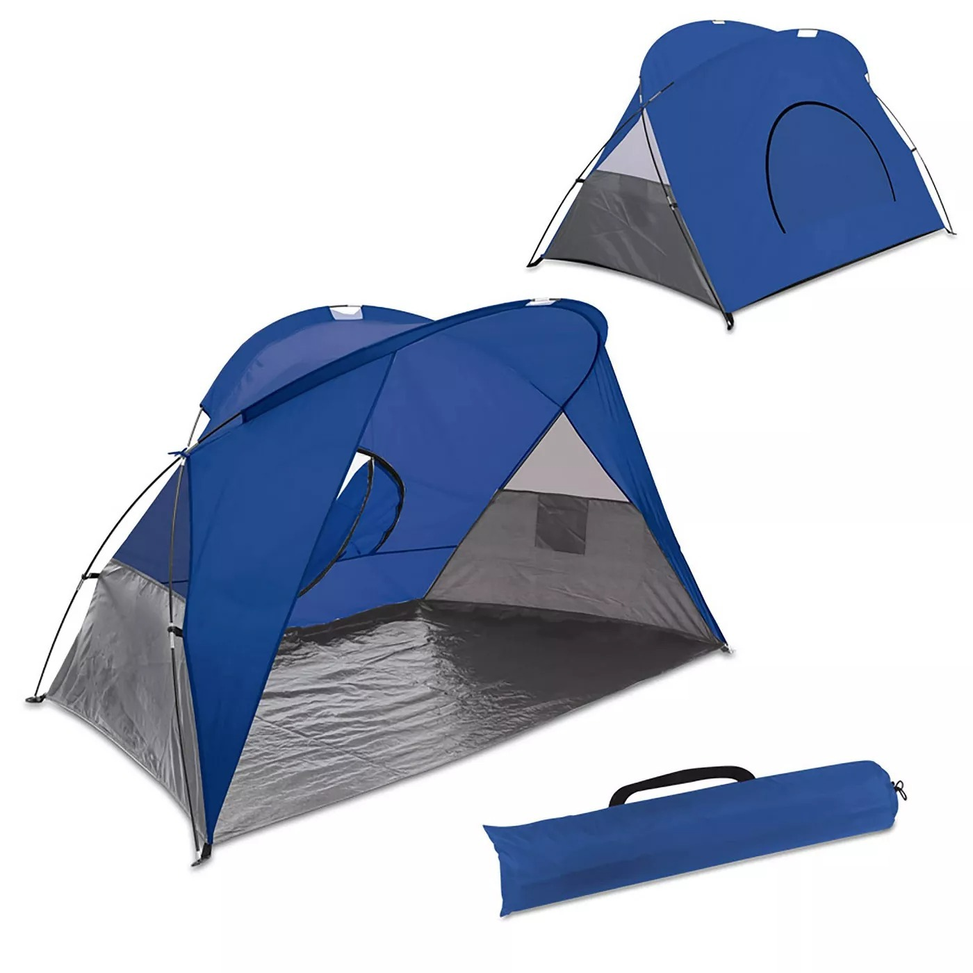Picnic Time Cove Sun Shelter,2 People Pop-up Beach Tent - £43.62 GBP