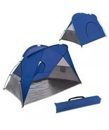 Picnic Time Cove Sun Shelter,2 People Pop-up Beach Tent - £43.06 GBP