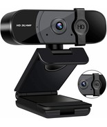 Taotuo HD Camera 2k/4mp picture quality Computer Camera with Privacy Cov... - $29.69