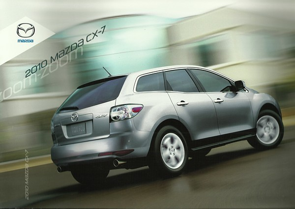 Primary image for 2010 Mazda CX-7 sales brochure catalog 10 US Sport Grand Touring