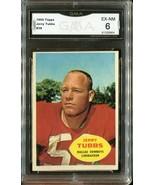 1960 Topps Football Jerry Tubbs #38 - Dallas Cowboys (GMA Graded EX-NM 6) - $19.79