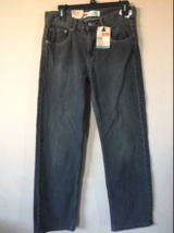 NEW BOYS LEVIS ORIGINAL 550 RELAXED FIT GRAY JEANS DENIM PANTS YOUTH SIZ... - $29.69