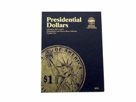 Whitman Coin Folder/Album,Presidential Dollar #1, 2007-2011 P & D  - $5.99