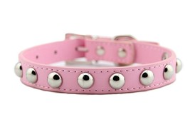 PetPremium Leather Studded Rivet Dog Collars for Puppy Small to Medium Pet | Cut - $24.54