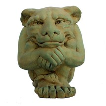 Garden Beautification Tool Cast Stone Large Igor Gargoyle Statue Bronze... - $94.51