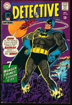 DETECTIVE #368-DC COMIC-GIANT BATMAN ON CVR VG/FN - $44.14