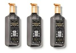 3 Bath & Body Works White Barn Marshmallow Fireside Gentle Gel Hand Wash Soap - $23.71