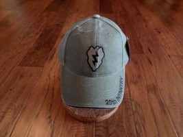 U.S MILITARY ARMY 25th INFANTRY DIVISION HAT ELECTRIC STRAWBERRY STONEWA... - $25.99