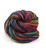 Darn Good Yarn, Lace Weight Silk Yarn, 300 Yards, Exotic Rainbow, 50 Gra... - $14.10