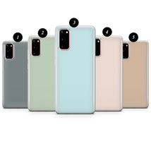 Pastel colour phone case for Samsung S20 A10 S10 A20 S9 J Note Galaxy Plus Ultra - $17.99