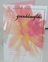 Hallmark FBD 375 5 Happy Birthday Granddaughter Ribbon Card Pink Envelope Pkg 4 image 2