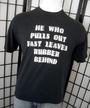Daytona Bike Week 1998 Hanes Heavyweight 50/50 adult black tee shirt lar... - $19.95