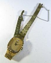 Vintage Ladies Watch Wristwatch Seiko Quartz Gold Tone Base Metal - $45.00