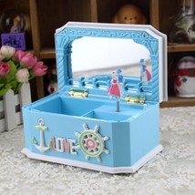 Children Music Box Home Decoration Gift Plastic Abs Hands Cranked Clockw... - $25.91