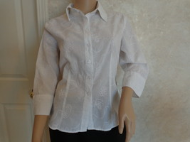 Essentials Blouse by Milano, Italy, Size L? (#1517)  - $11.99