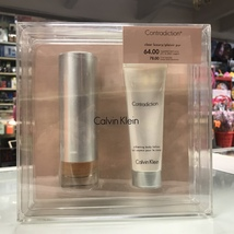 CONTRADICTION by CALVIN KLEIN or WOMAN 1.7 OZ + BODY LOTION SET - $44.98