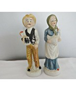 Set of Old Man & Woman Figurines - $18.69
