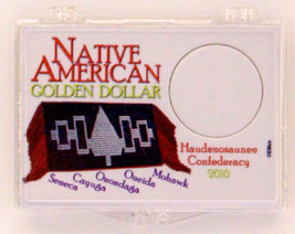 2010 Native American 2X3 Snap Lock Coin Holder, 3 pack - $6.59