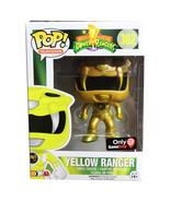 Power Rangers Funko POP! Vinyl Gamestop Exclusive - Yellow Ranger (Gold ... - $69.90
