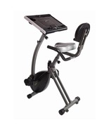 Workstation Exercise Bike Adjustable Laptop Holder Desk Wirk Ride Work C... - $219.36