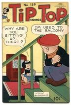 Tip Top Comics #159 1949- TV set cover VG - $56.75