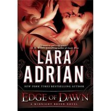 Primary image for Edge of Dawn : A Midnight Breed Novel by Lara Adrian (2013, Hardcover)