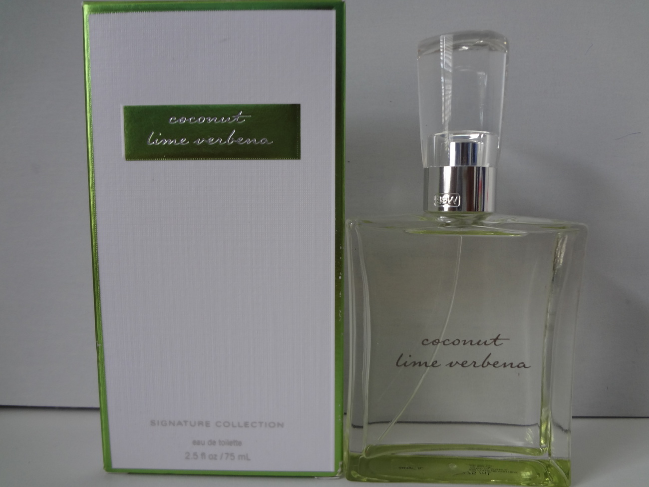 Bath & Body Works Coconut Lime Verbena Eau De Toilette 2.5 oz / 75 ml