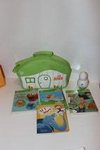 LeapFrog Tag Junior Lot Bundle 4 Books Carrying Case Disney Pooh Toy Story  - $27.25