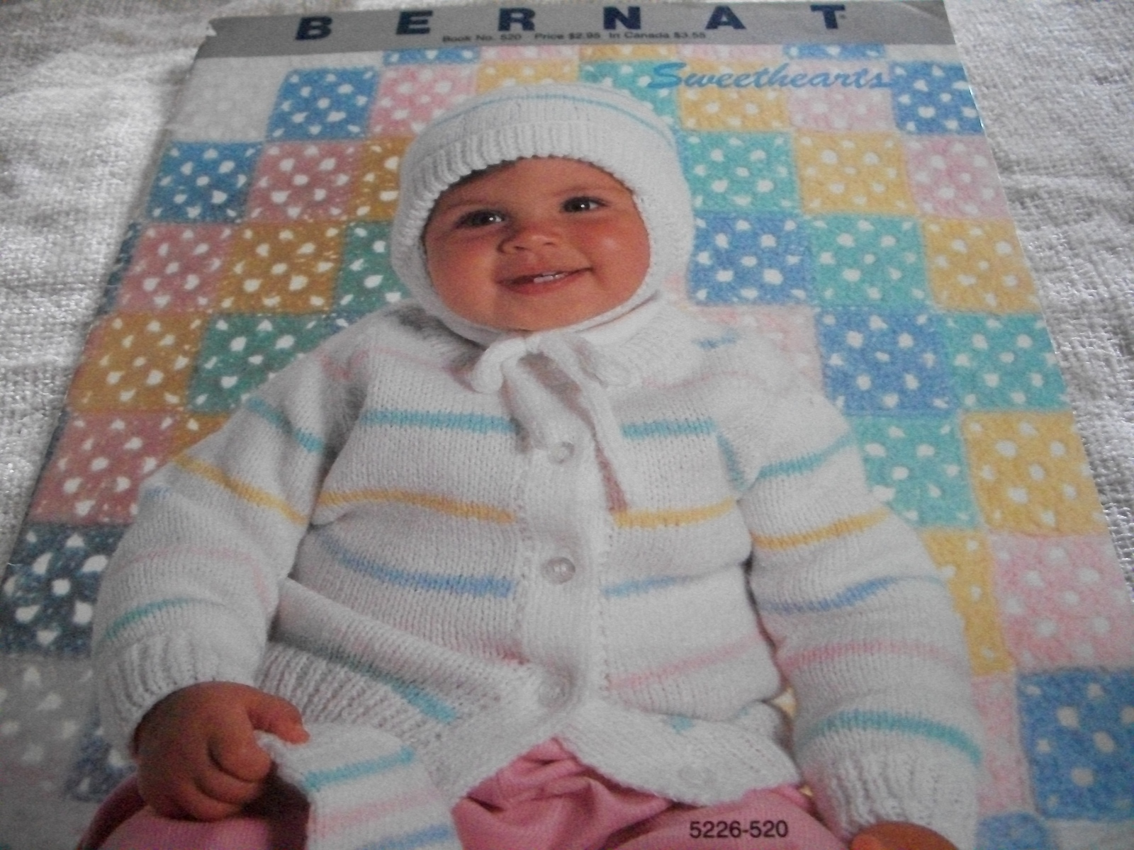 Primary image for Bernat Book No. 520 Knitting Book