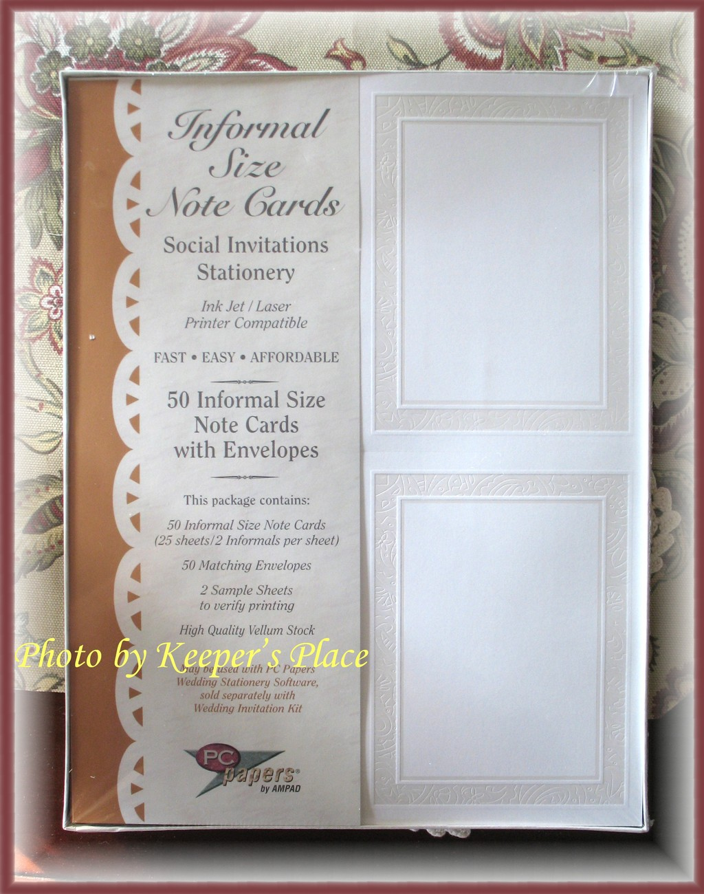 50 AMPAD Social Wedding Invitations Thank You Note Cards New Sealed In Plastic