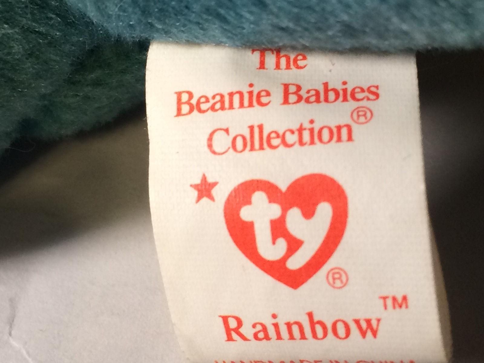 "1997 Rare Ty ""Rainbow"" in Error Actual IGGY Beanie-Babies Retired Errors"