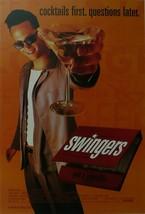 Swingers (1) - Jon Favreau/Vince Vaughn - Movie Poster - Framed Picture 11 x 14 - $32.50