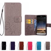 Leather Wallet Phone Case For LG K10 2018 K4 K5 K7 K8 Q6 X power K220DS ... - $17.75+