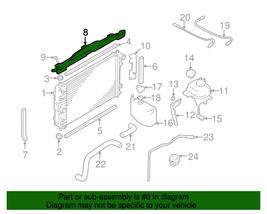 Upper Radiator Panel For 97-06 Jaguar XK8 00-06 Xkr MJA4180AD Genuine Oem Nos - $98.99