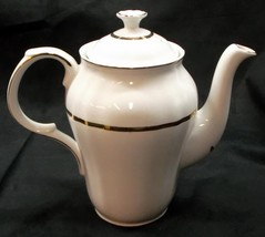 Alfred Meakin 'Perfection Gold' 6 Cup Ironstone Coffee Pot - No Reserve - $34.95