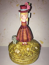 1975 Vtg Signed Rosalind Welcher Music Box from the Schmid Coll. Panda P... - $15.00