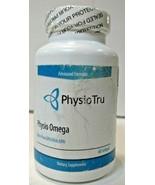 Physio Tru Advanced Formula Physio Omega - 60 Softgels - EXP 07/21 - SEA... - $36.09