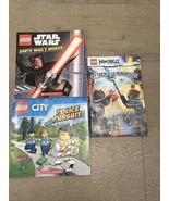 Scholastic LEGO Lot: Ninjago: Attack of Nindroids, Darth Haul's Mission,... - $10.00